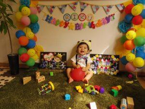 3歳の誕生日会に行ったら飾り付けが【アンパンマン】づくしだったwww
