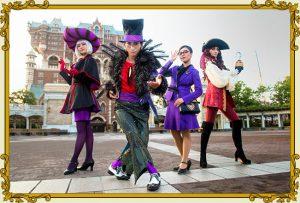 ヴィランズ・ハロウィン・パーティー2018の時間帯スケジュールを予想!