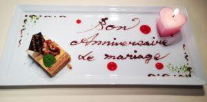銀婚式のケーキプレートに書くメッセージのアイディアと例文!