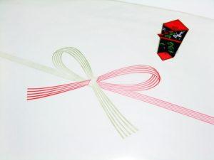 銀婚式の贈り物につける【のし紙】の書き方。宛名は必要?