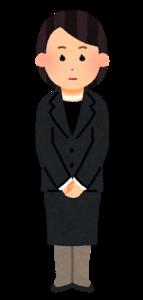 法事の服装は男女とも喪服が基本!カジュアルはNG?【身内のみでも】